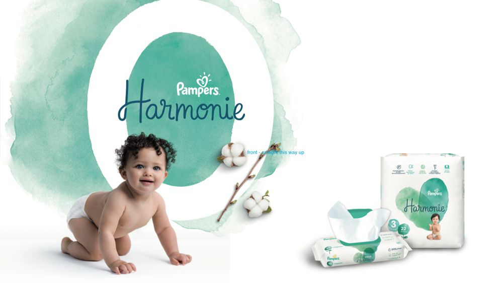Pampers pop-up