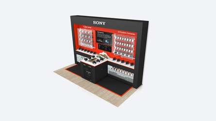Sony Wex Shop-in-shop