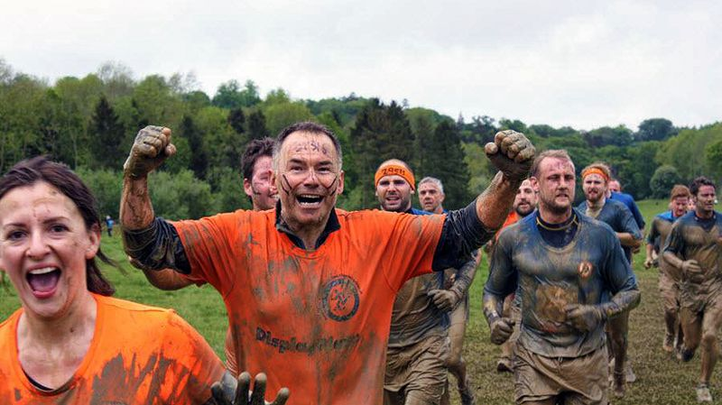 When the going gets tough, the tough get muddy!
