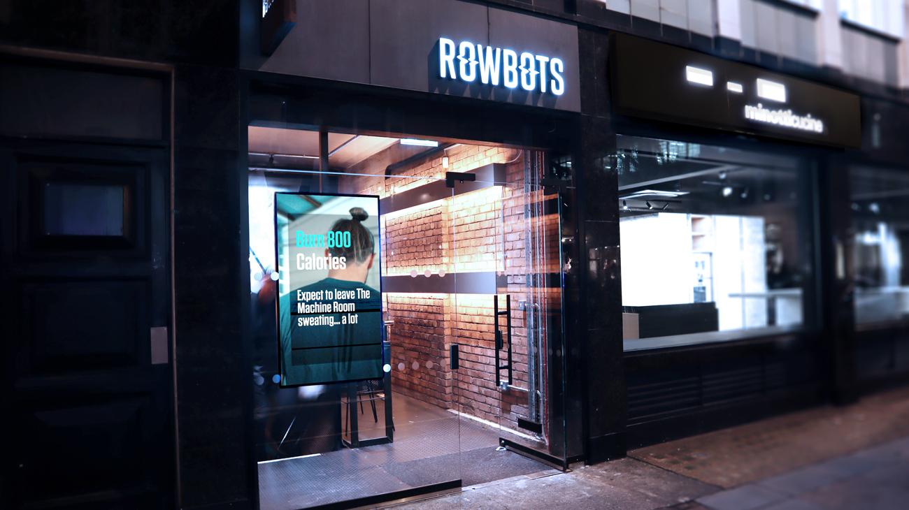 Rowbots Digital Signage