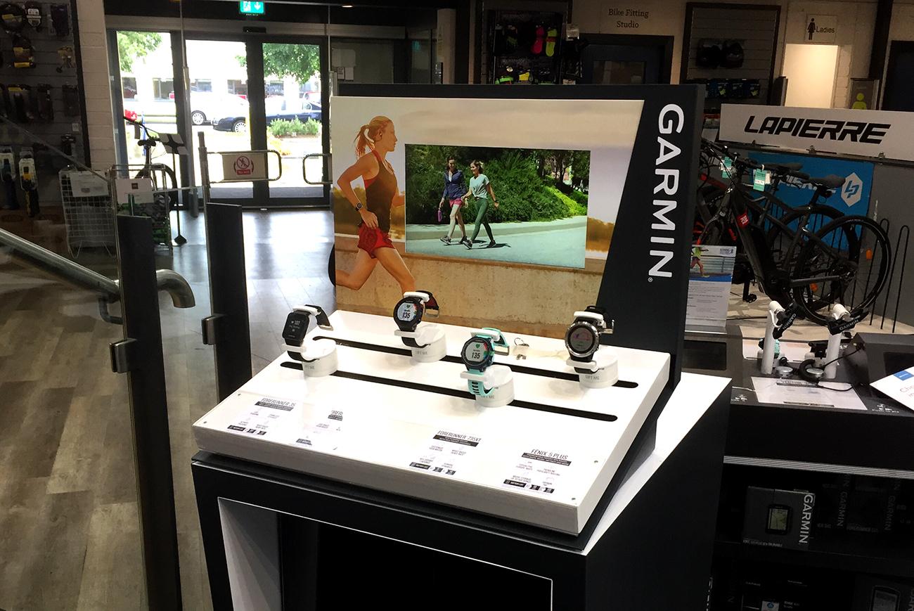 Garmin CTU in-store