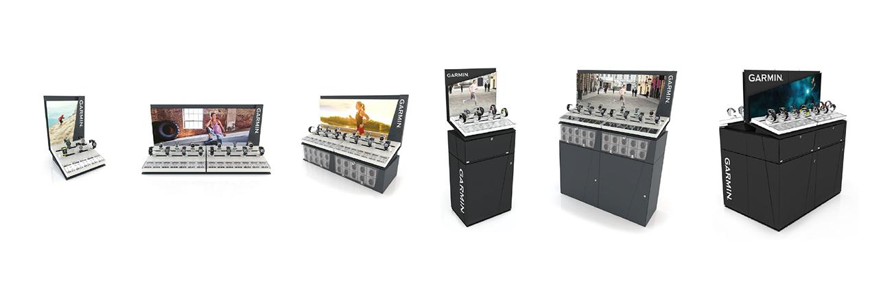 Garmin modular range