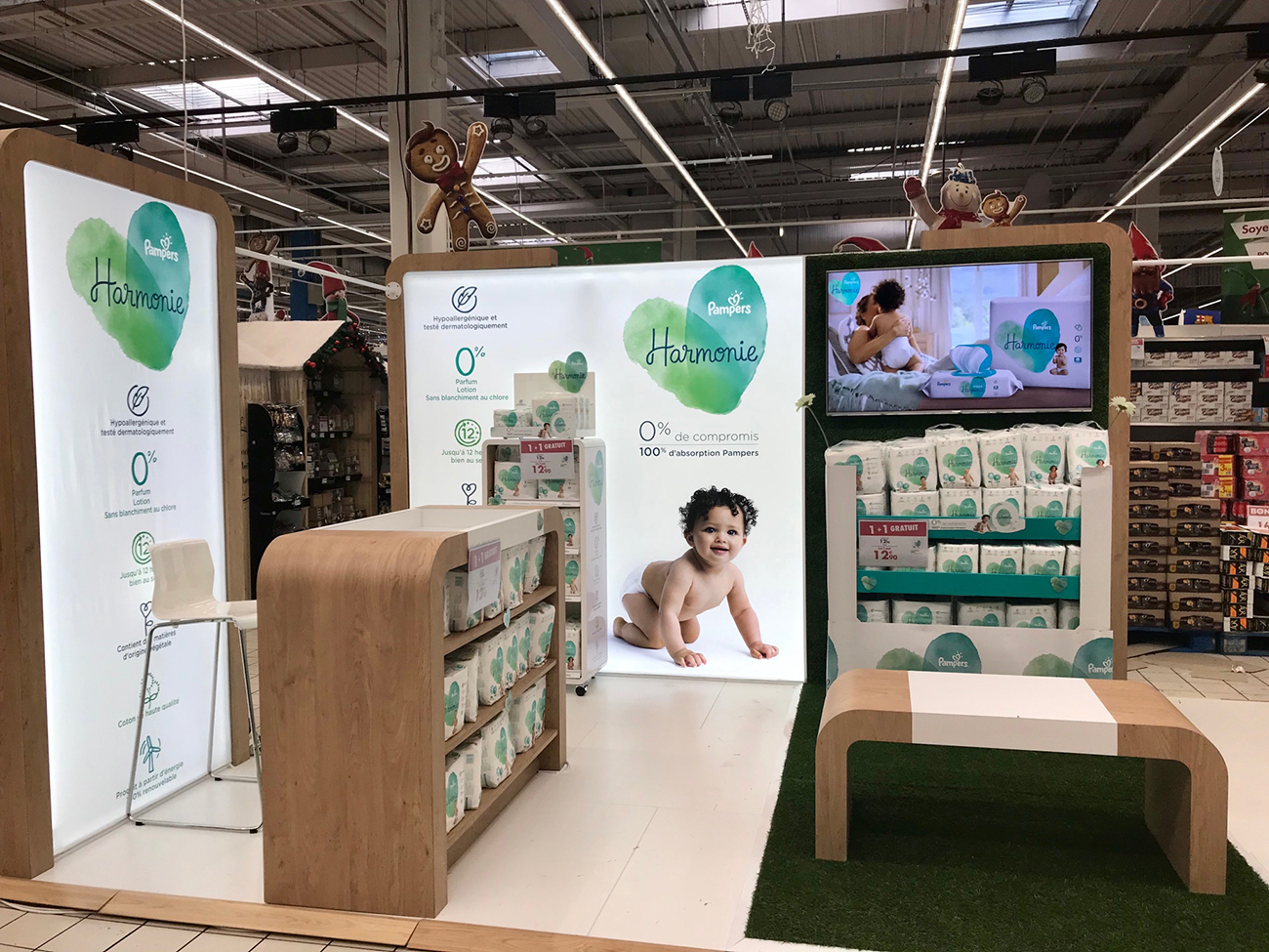 Pampers Pop Up Store 1300