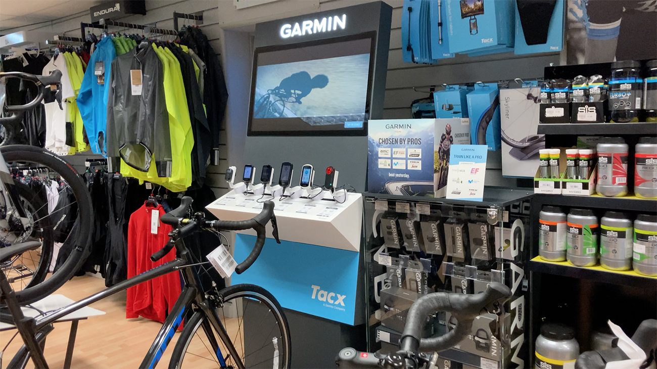 Tacx instore Julie Cycles