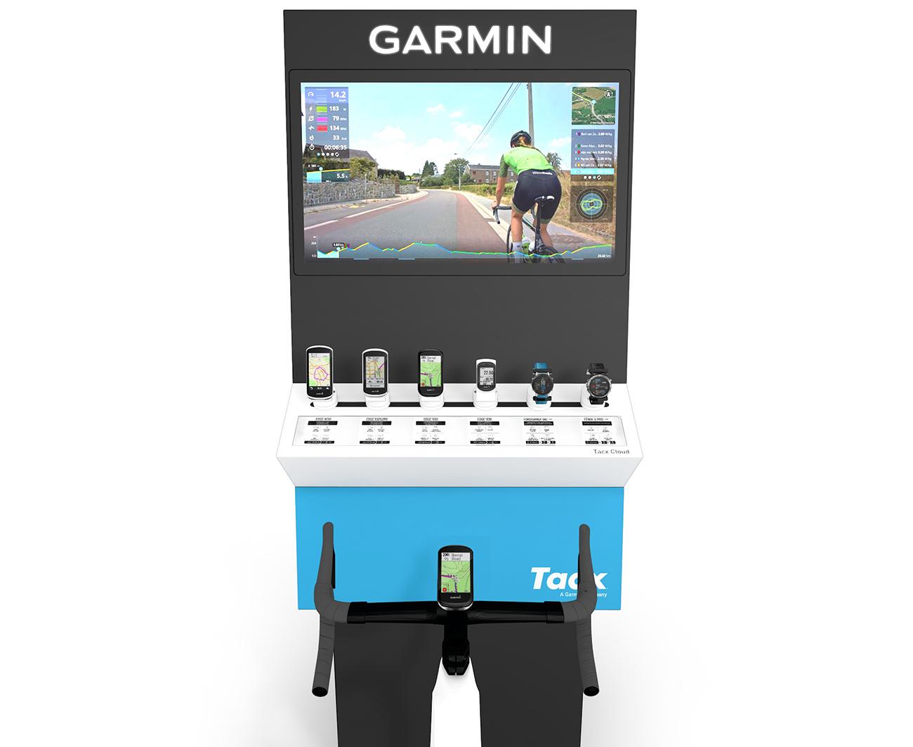 Garmin Global Cycling Display Front 1300